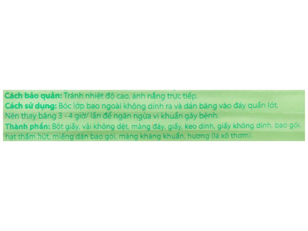 Băng vệ sinh Laurier Super Slimguard kháng khuẩn siêu siêu mỏng 8 miếng 5