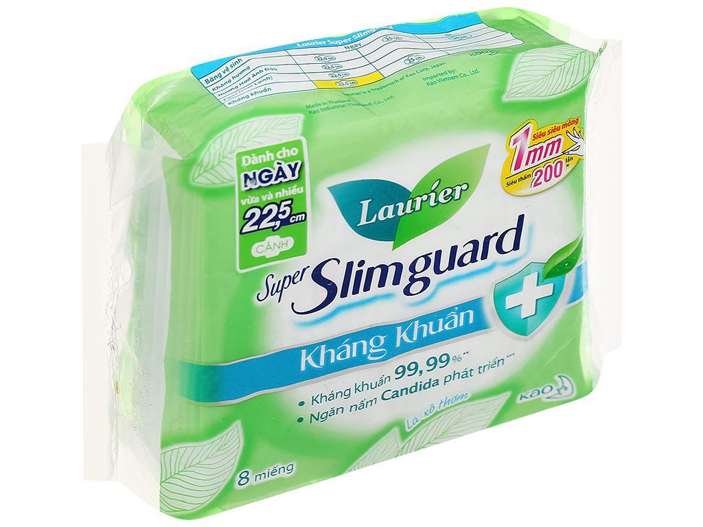 Băng vệ sinh Laurier Super Slimguard kháng khuẩn siêu siêu mỏng 8 miếng 7
