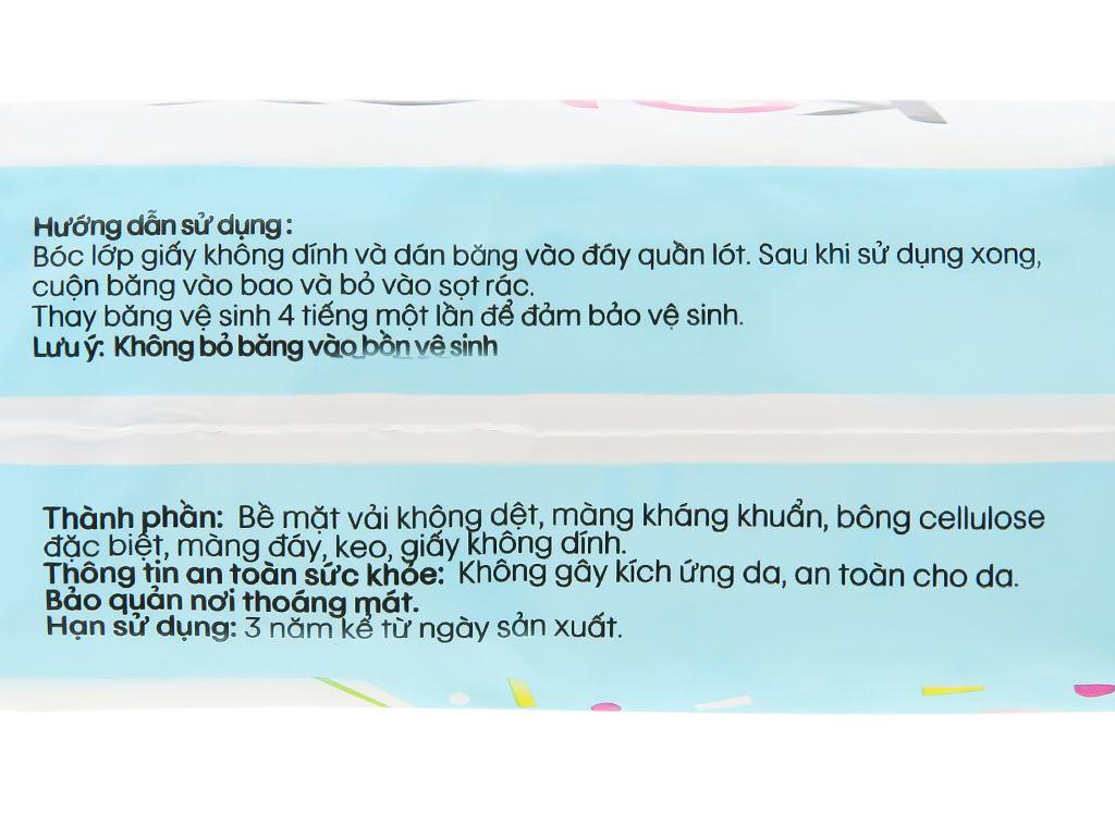 Băng vệ sinh hàng ngày Kotex siêu mềm kháng khuẩn 40 miếng 11
