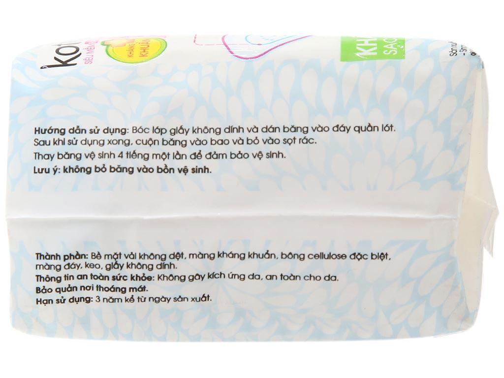 Băng vệ sinh hàng ngày Kotex siêu mềm kháng khuẩn 8 miếng 8