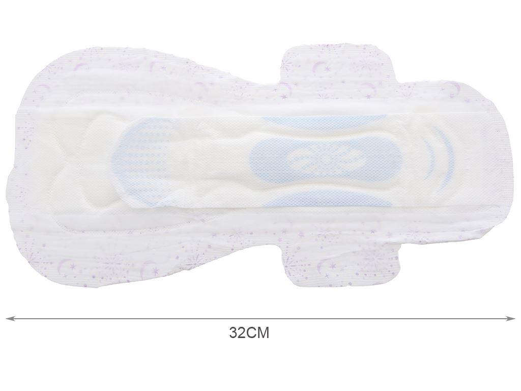 Băng vệ sinh ban đêm Kotex Style khô thoáng siêu mỏng 3 miếng 32cm 10