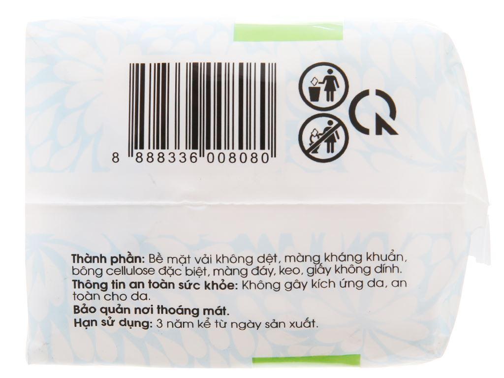 Băng vệ sinh hàng ngày Kotex siêu mềm kháng khuẩn 20 miếng 3