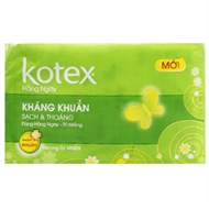 BVS hàng ngày Kotex Kháng khuẩn hương Tự nhiên (20 miếng)