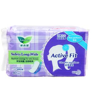 Băng vệ sinh hàng ngày Laurier Active Fit siêu thấm 40 miếng