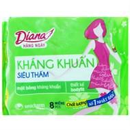 BVS hàng ngày Diana Kháng khuẩn Siêu thấm (8 miếng)