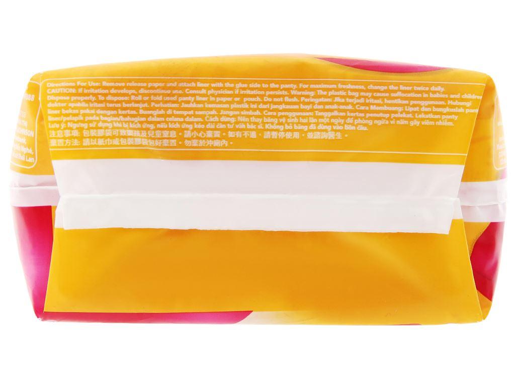Băng vệ sinh hàng ngày Carefree siêu mỏng 40 miếng 8