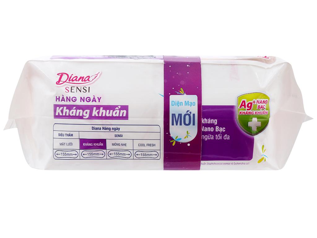 Băng vệ sinh hàng ngày Diana kháng khuẩn 40 miếng 4