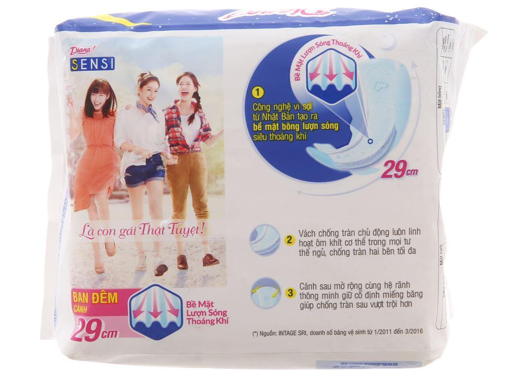 Băng vệ sinh ban đêm Diana Sensi 12 miếng 3