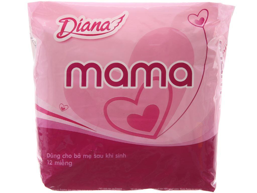 Băng vệ sinh Diana Mama không cánh 12 miếng 2
