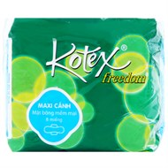 BVS Kotex Freedom Mặt bông Có cánh 23 cm (8 miếng)