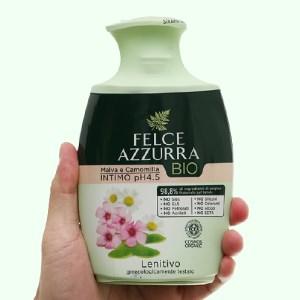 Dung dịch vệ sinh phụ nữ Felce Azzurra hữu cơ dưỡng da 250ml