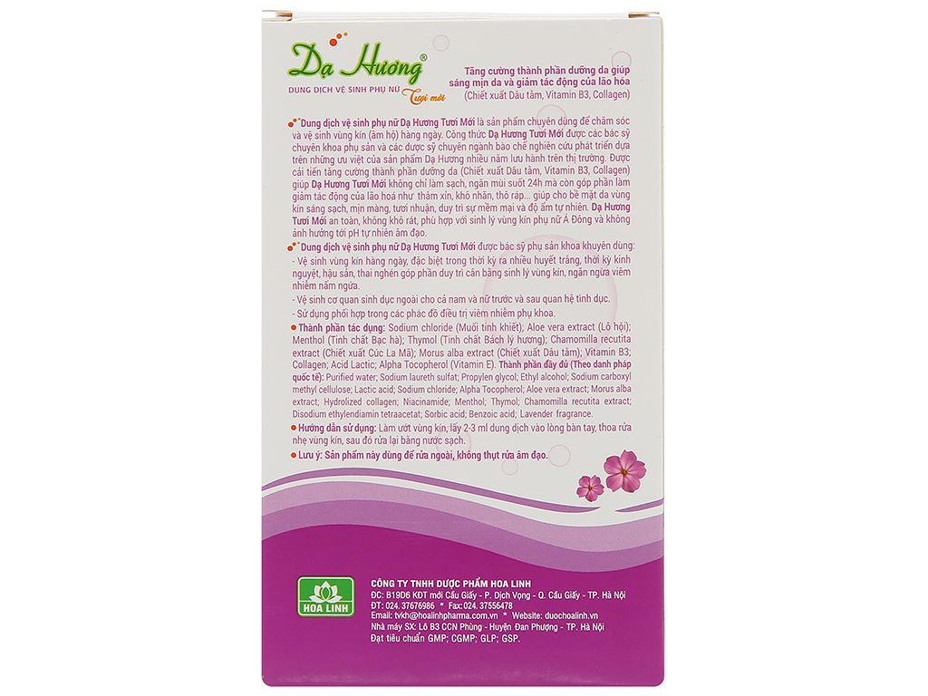 Dung dịch vệ sinh phụ nữ Dược phẩm Hoa Linh 100ml 3