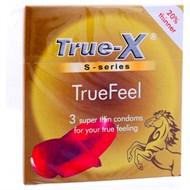 Bao cao su True-X Truefeel 49mm (hộp 3 cái)