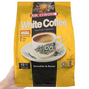 Cà phê sữa Aik Cheong White Coffee 3 trong 1 Original 600g