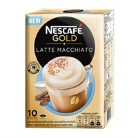 Cà phê hòa tan NesCafe Gold Latte Macchiato hộp 205g (hộp 10 gói)
