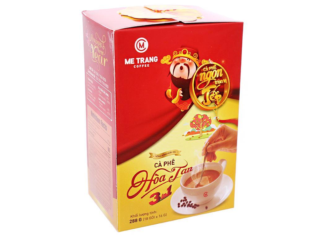 Cà phê sữa Mê Trang 3 in 1 288g 1