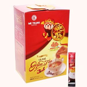 Cà phê sữa Mê Trang 3 in 1 288g ( 18 gói x 16g )