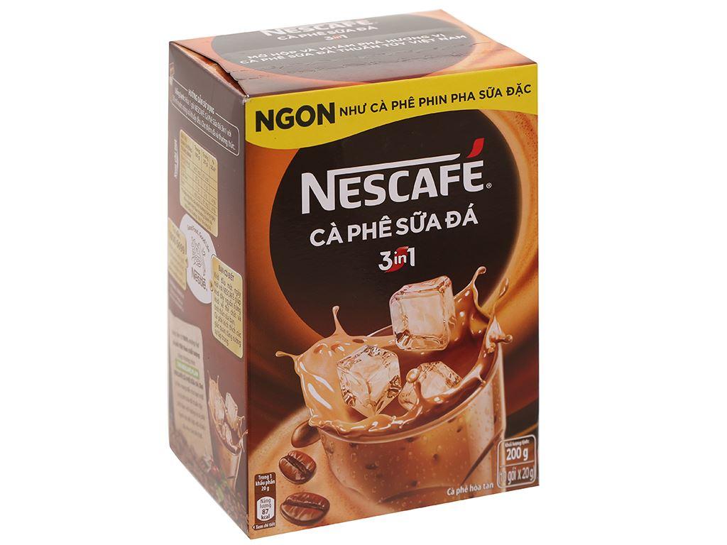 Cà phê sữa đá NesCafé 3 in 1 200g 1