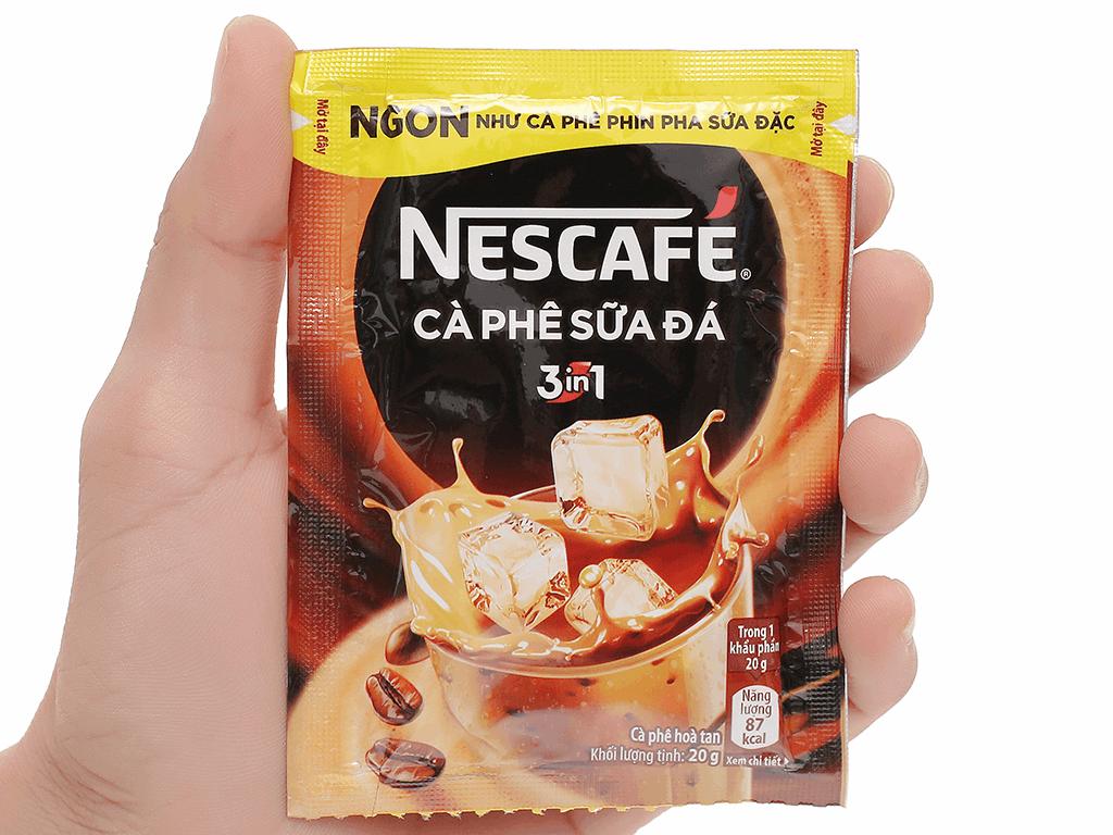 Cà phê sữa đá NesCafé 3 in 1 200g 5