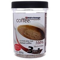 Cà phê hòa tan 3 in 1 Bùi Văn Ngọ Strong 300g