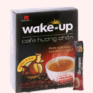 Cà phê sữa Wake Up 3 trong 1 hương chồn 306g (18 gói x 17g)