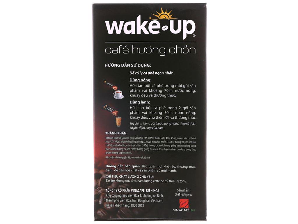 Cà phê sữa Wake Up 3 trong 1 hương chồn 306g 3