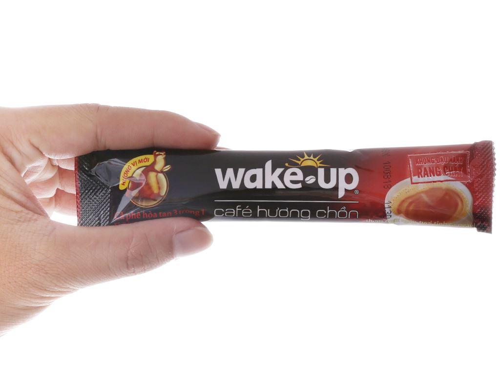 Cà phê sữa Wake Up 3 trong 1 hương chồn 306g 5