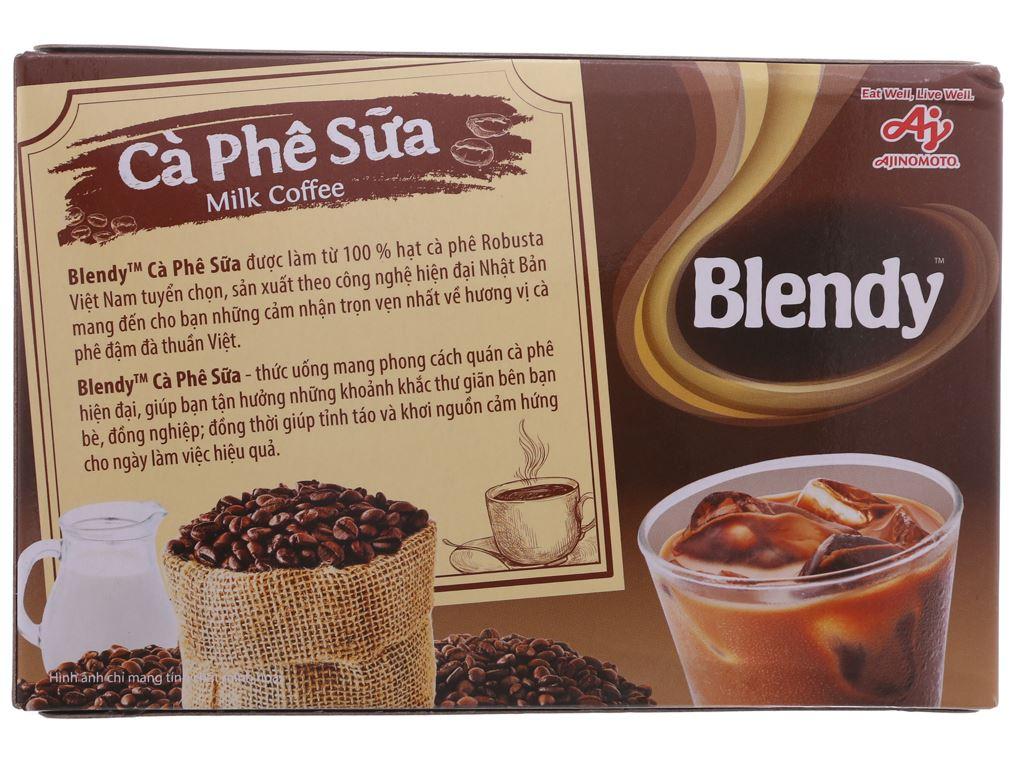 Cà phê sữa Blendy 170g 3