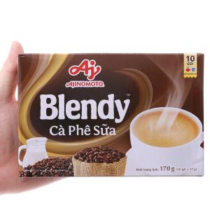 Cà phê sữa hòa tan Blendy hộp 170g (17g x 10 gói)