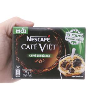 Cà phê đen hòa tan NesCafe Vị mạnh hộp 36g (3g x 12 gói)