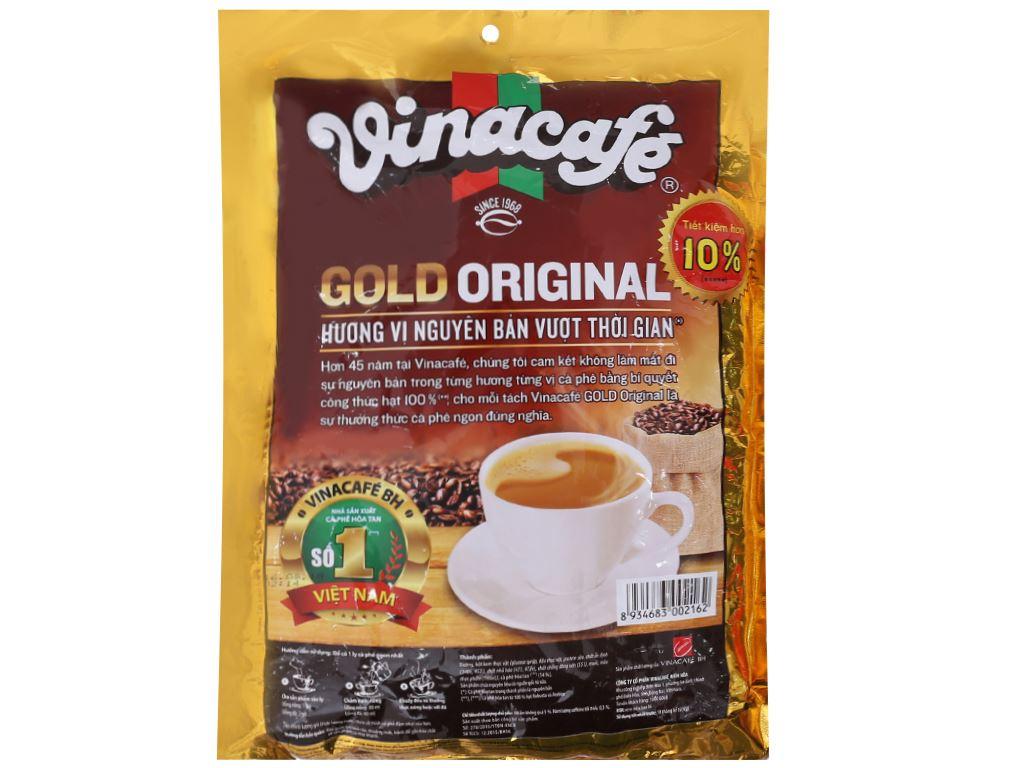 Cà phê sữa VinaCafé Gold Original 800g 2