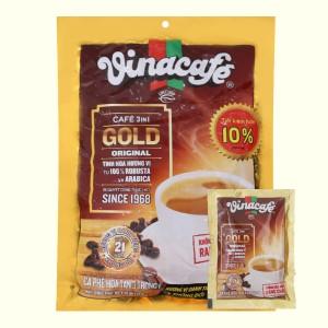 Cà phê sữa VinaCafé Gold Original 800g ( 40 gói x 20g )