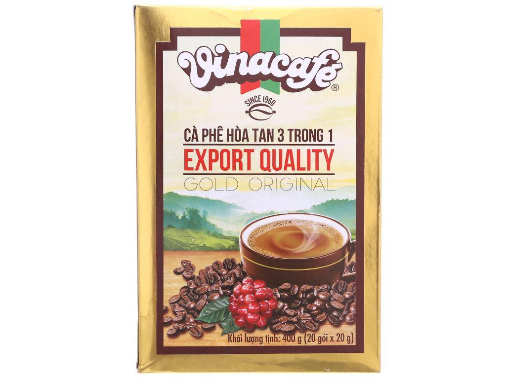 Cà phê sữa VinaCafé Gold Original 400g 1
