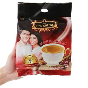 Cà phê sữa hòa tan King Coffee 3 trong 1 448g (16g x 28 gói)