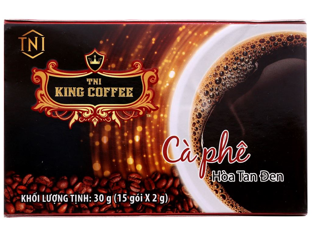 Cà phê đen TNI King Coffee 30g 2