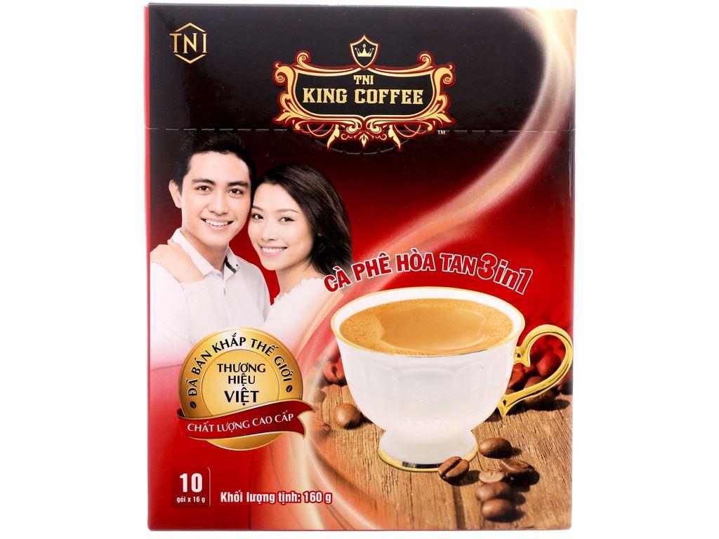 Cà phê sữa TNI King Coffee 3 trong 1 160g 2