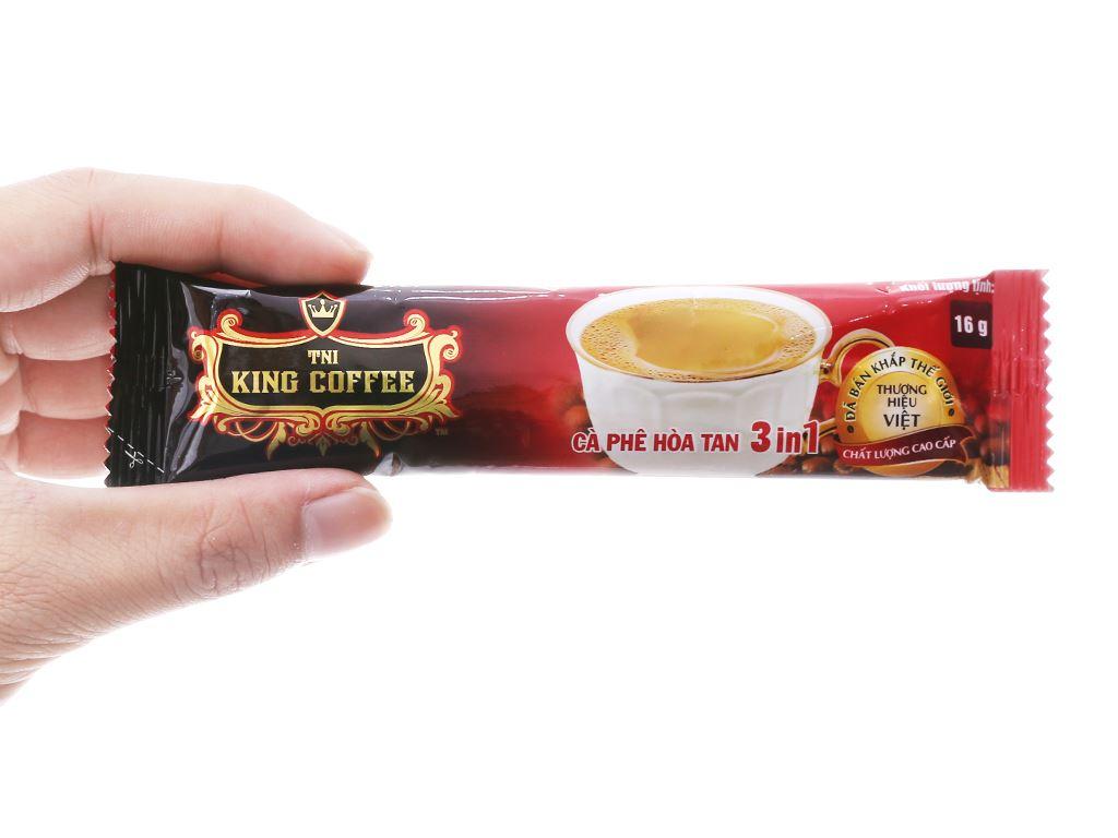 Cà phê sữa TNI King Coffee 3 trong 1 160g 5