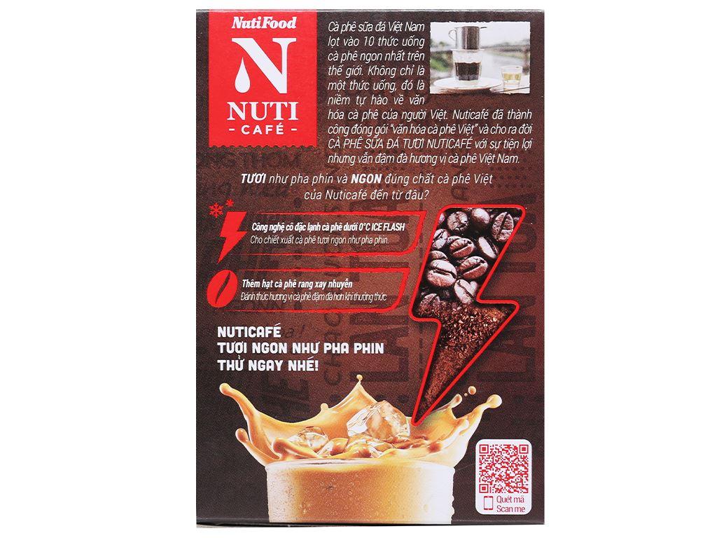 Cà phê sữa đá tươi NUTICAFÉ 3 trong 1 240g 2