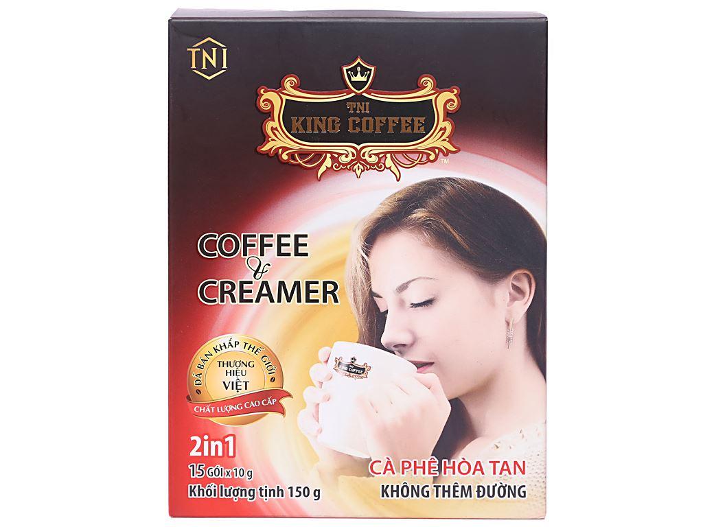 Cà phê sữa TNI King Coffee Coffee & Creamer 150g 1