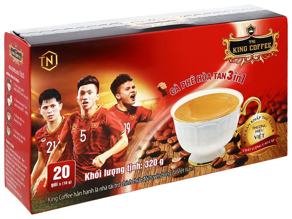 Cà phê hòa tan 3 trong 1 TNI King Coffee 320g 5