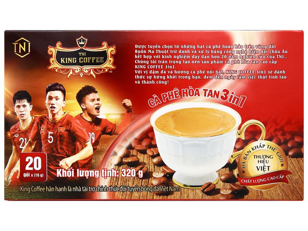 Cà phê hòa tan 3 trong 1 TNI King Coffee 320g 7