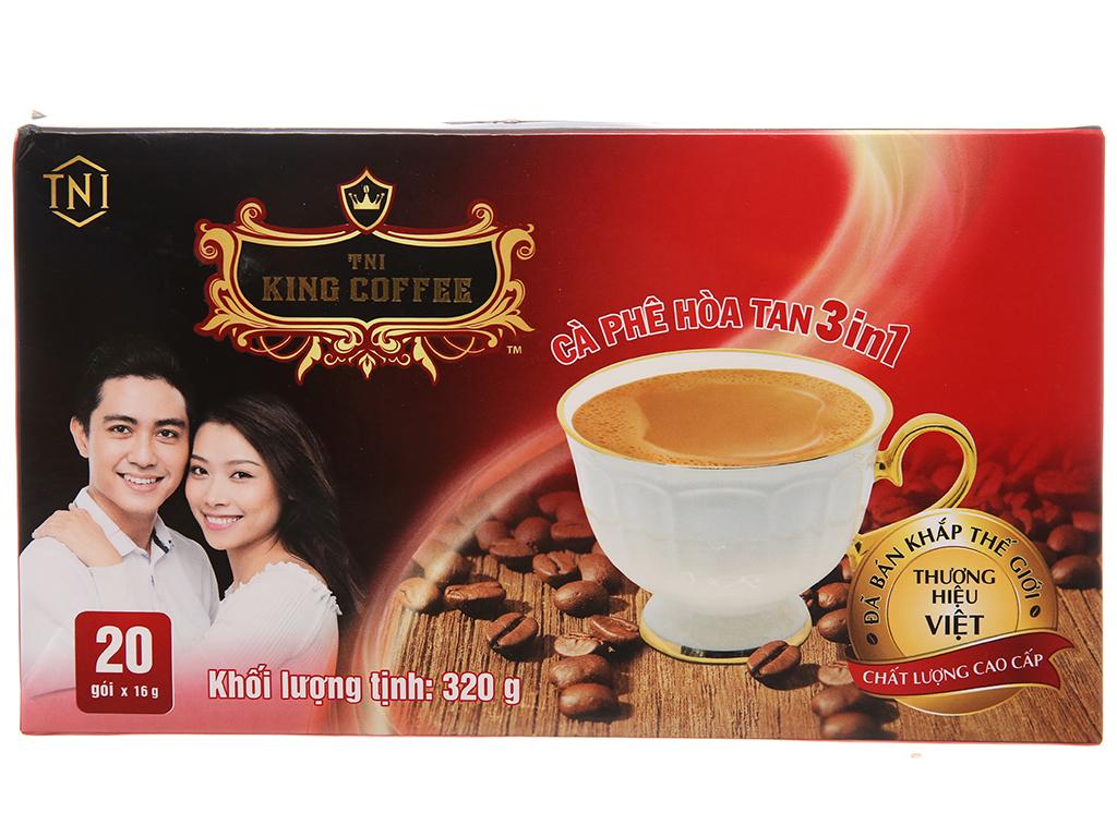 Cà phê sữa TNI King Coffee 3 in 1 320g 1