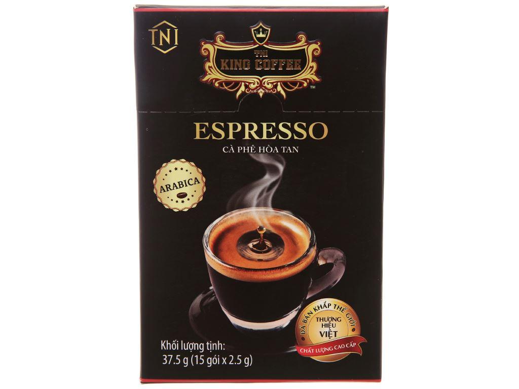Cà phê đen TNI King Coffee Espresso 37.5g 1
