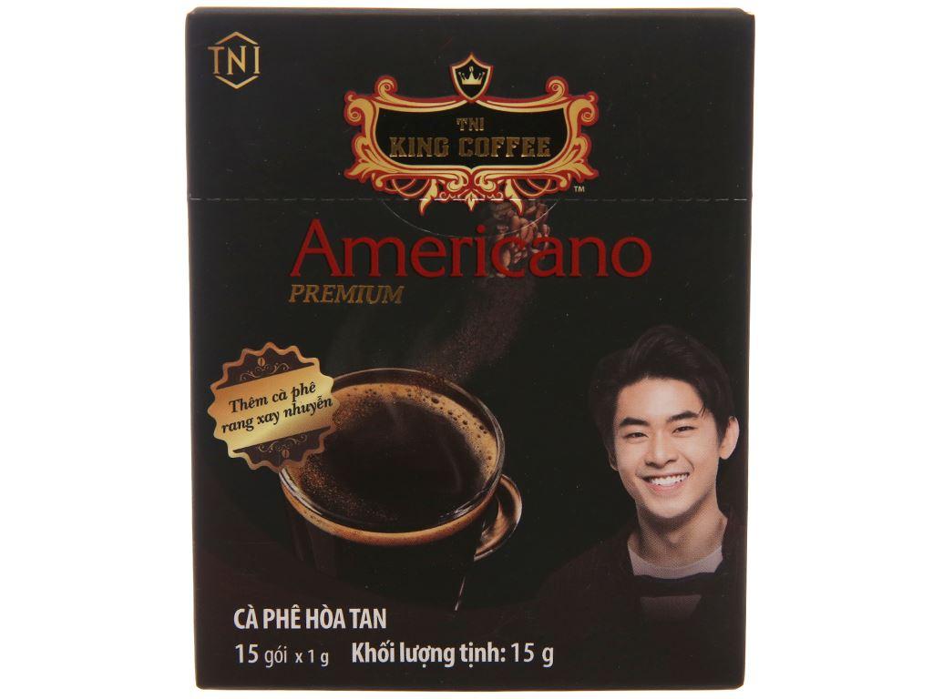 Cà phê đen TNI King Coffee Americano Premium 15g 1