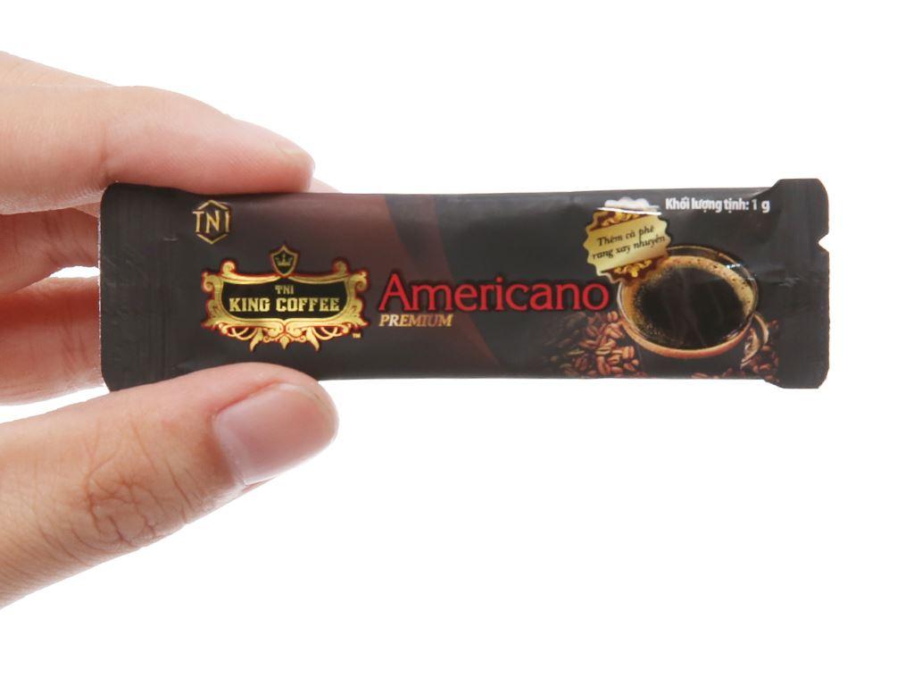 Cà phê đen TNI King Coffee Americano Premium 15g 4