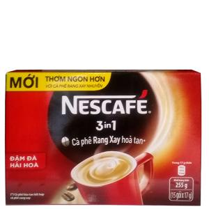 Cà phê NesCafé 3 trong 1 255g (17g x 15 gói)