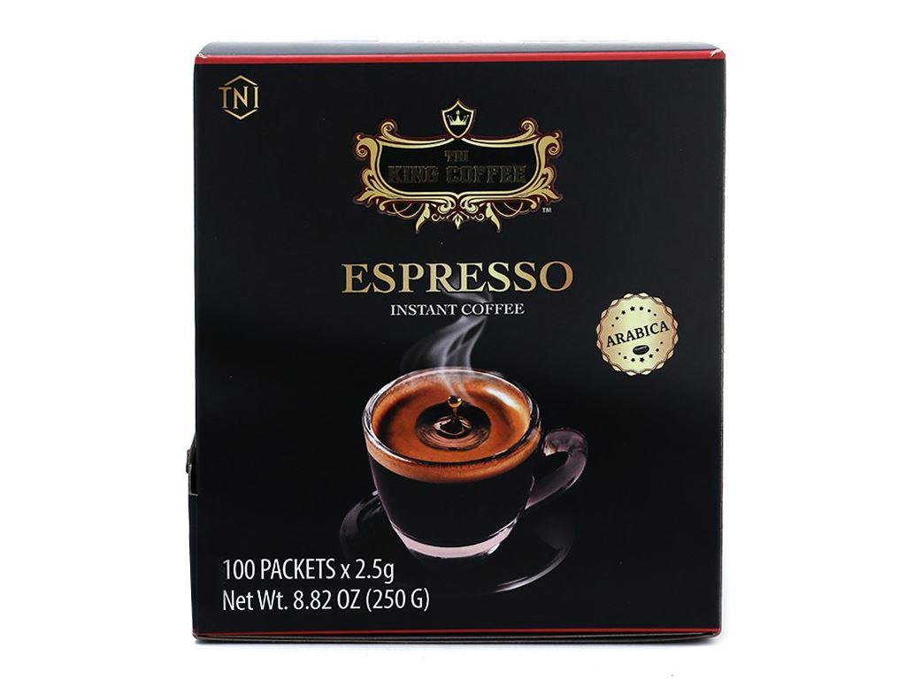 Cà phê đen TNI King Coffee Espresso 250g 1