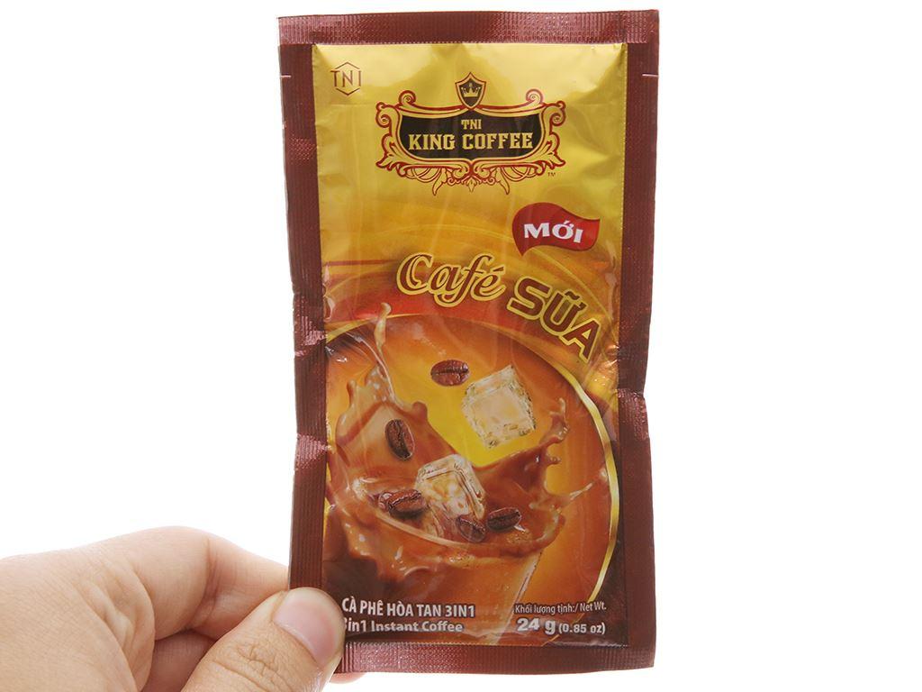 Cà phê sữa TNI King Coffee 720g 4