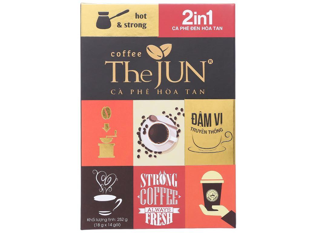 Cà phê đen The JUN 2 in 1 252g 1