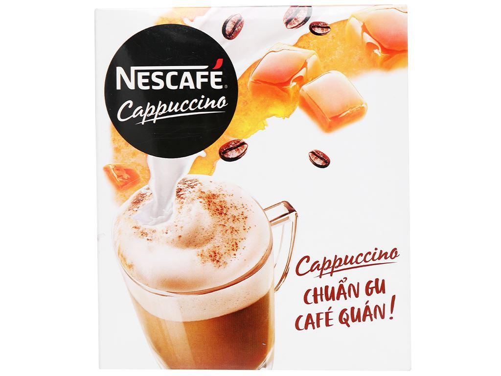 Cà phê Cappuccino NesCafé vị caramel 200g 3